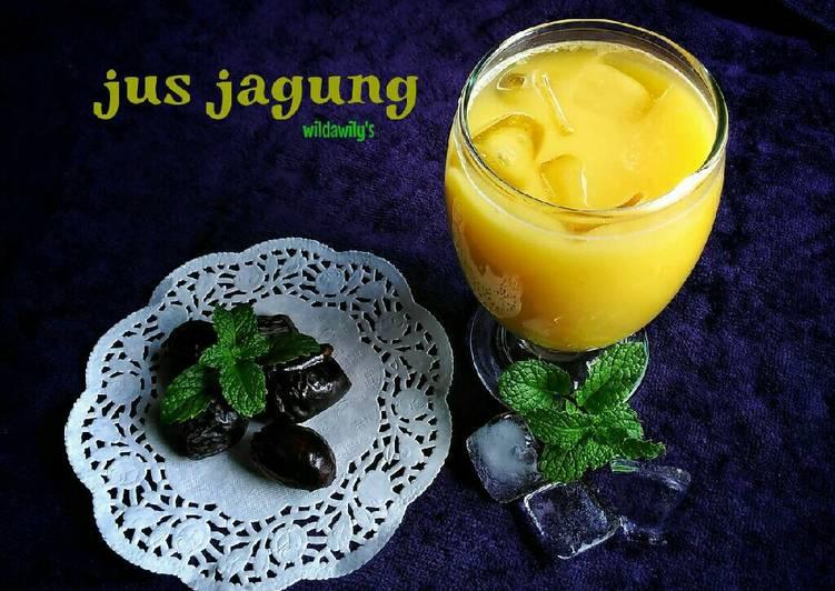 Resep Jus Jagung