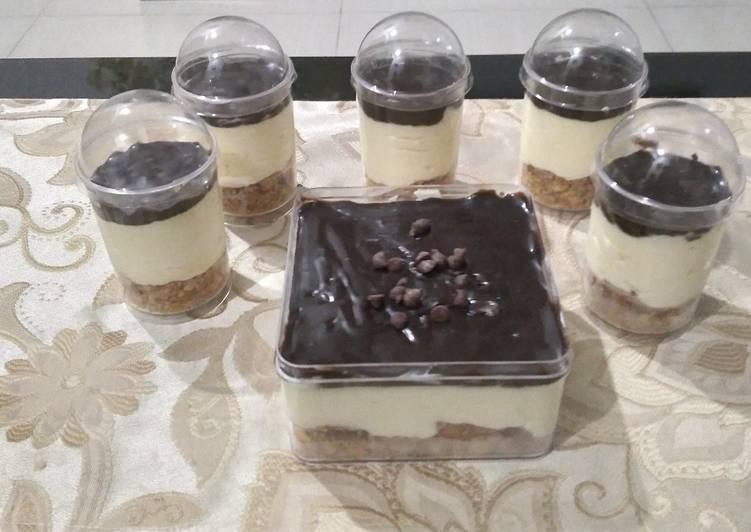 Resep Eclair dessert box