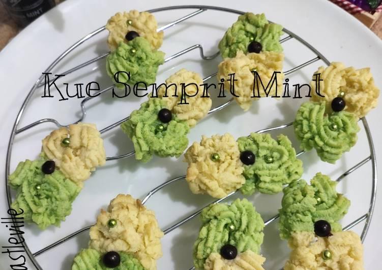 Resep Kue Semprit Mint