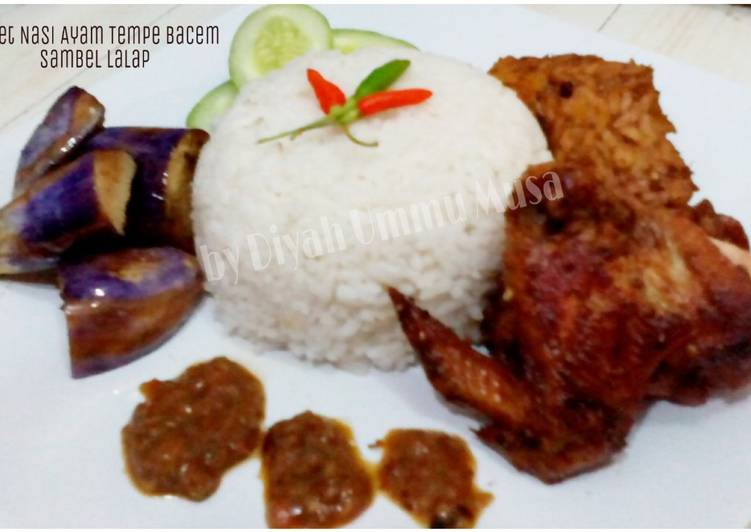 Resep Baceman | Ayam Tempe Bacem