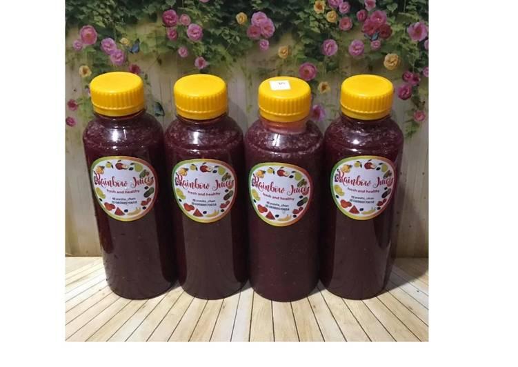 Resep Diet Juice Papaya Blackberry Oranges Beetroot Chiaseed