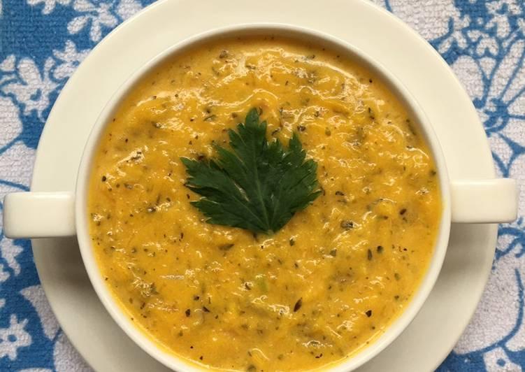 Resep Soft Pumpkin Soup