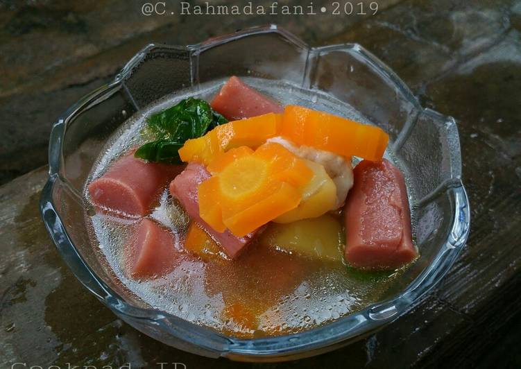 Resep Sop Sayur Sosis