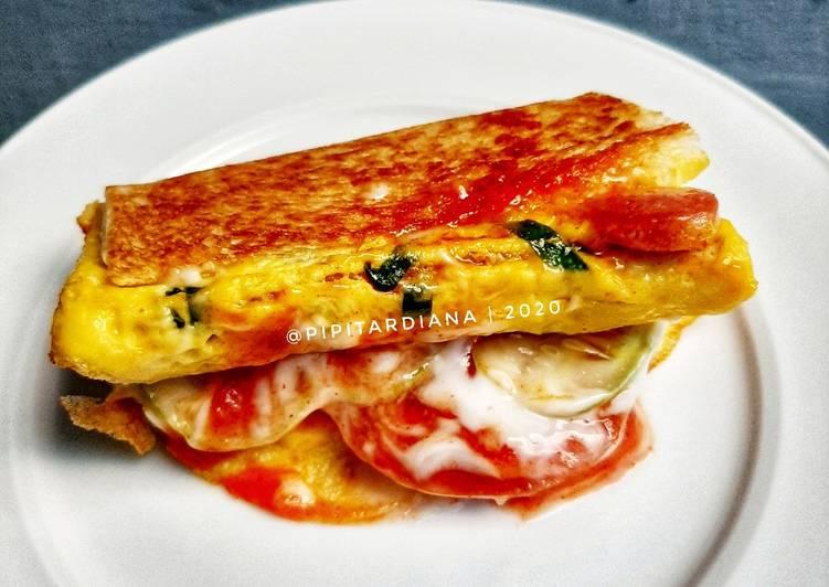 Langkah Mudah Resep Sandwich Roti Tawar Roti Jhon Homemade Yang Enak