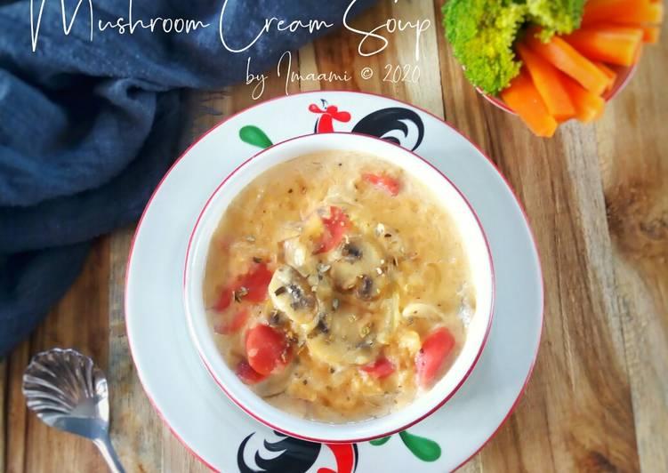 Resep Mushroom Cream Soup