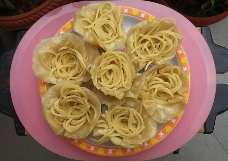 Resep 1Dimsum spaghetti