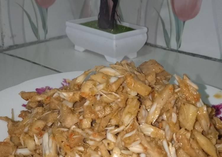 Resep Oseng nangka muda pedas