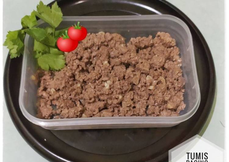 Resep Tumis Daging Sapi Cincang #80