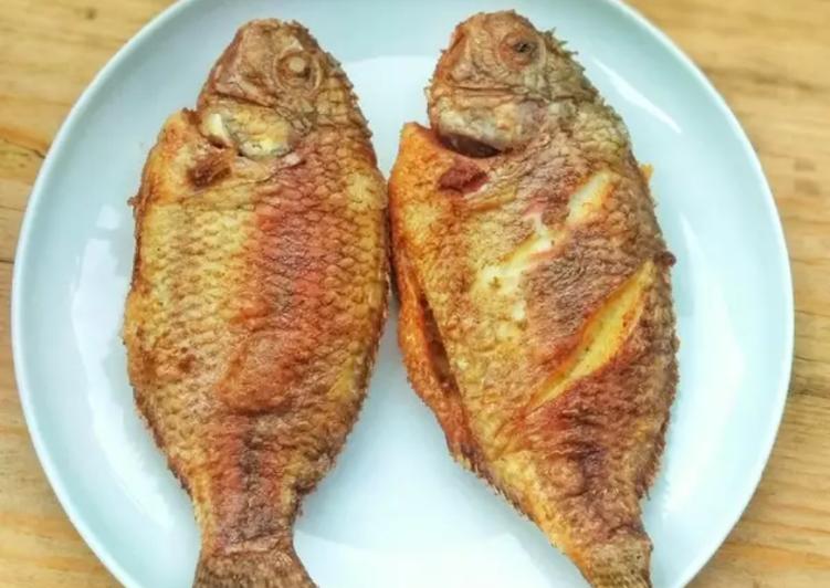 Resep Ikan Goreng Bumbu Racik