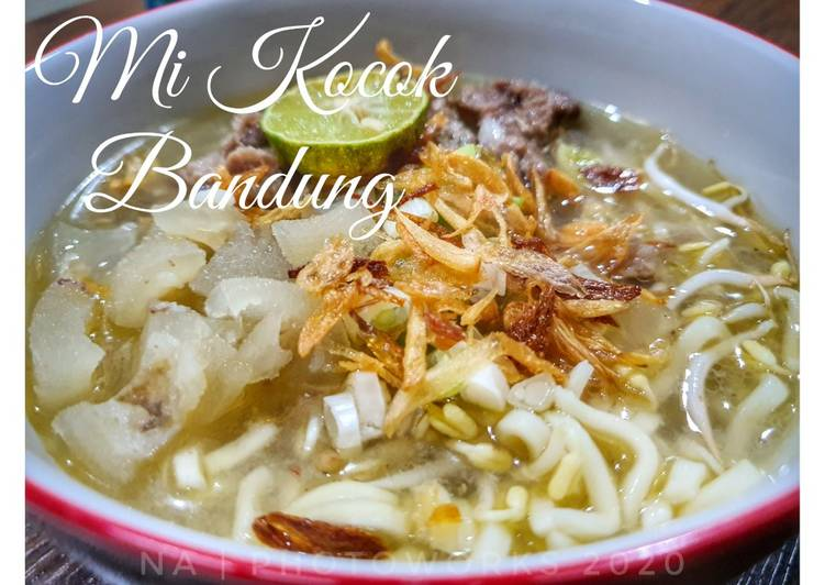 Resep Mi kocok Bandung