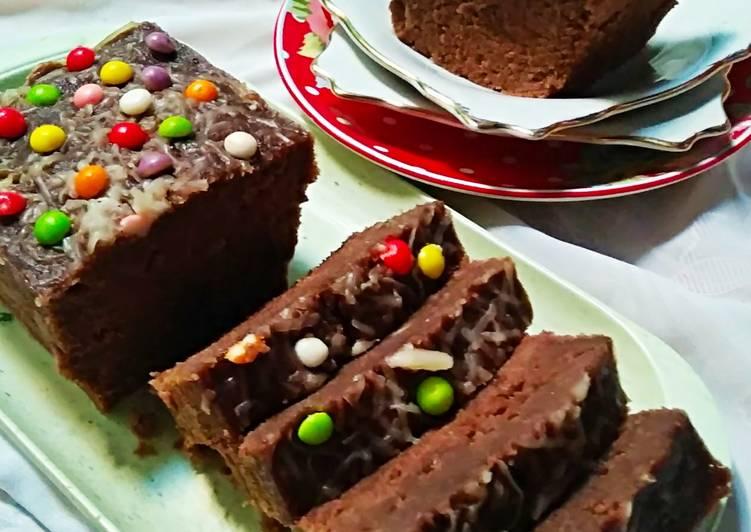 Resep Banana Cake Chocolate