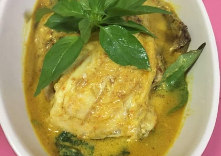 Resep Gulai Ikan Kemangi