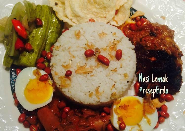 Resep Nasi Lemak Ayam Percik Tadika Puri