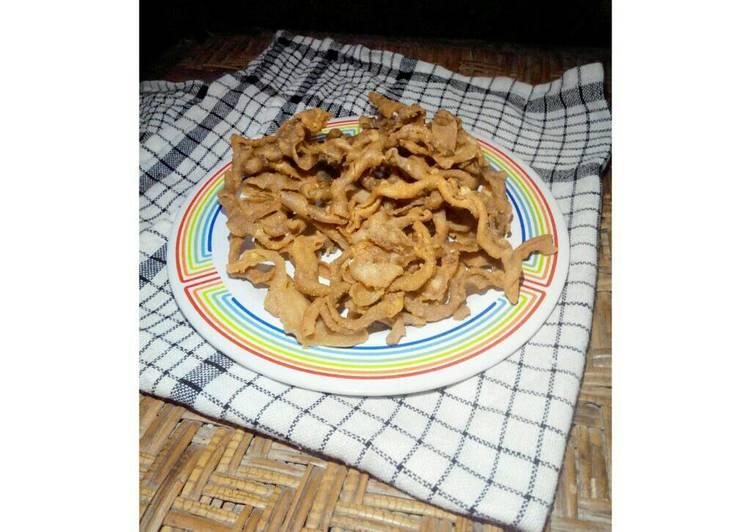 Cara Menyiapkan Usus Goreng Crispy Pr Cemilankriuk Lezat