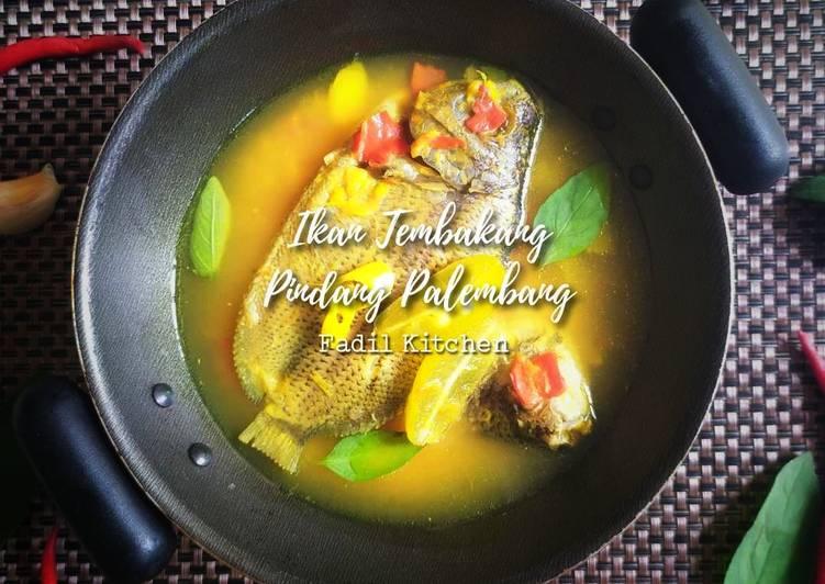 Resep Ikan Tembakang Pindang Palembang (+ tips jitu)