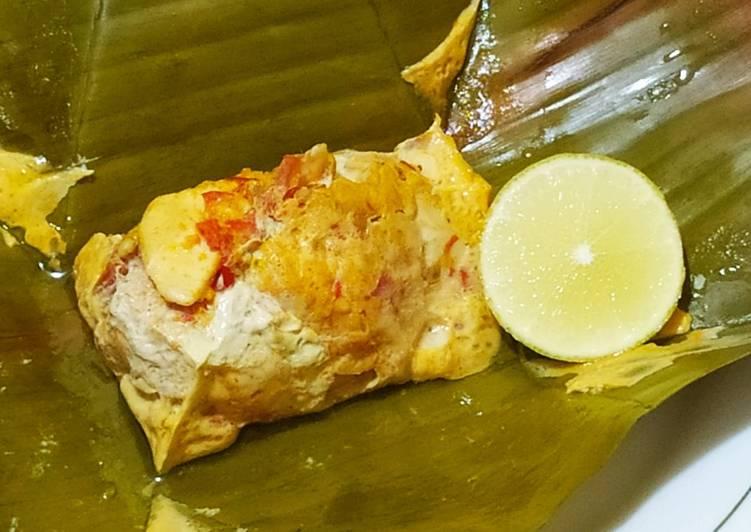 Resep Pepes ayam (menu diet)