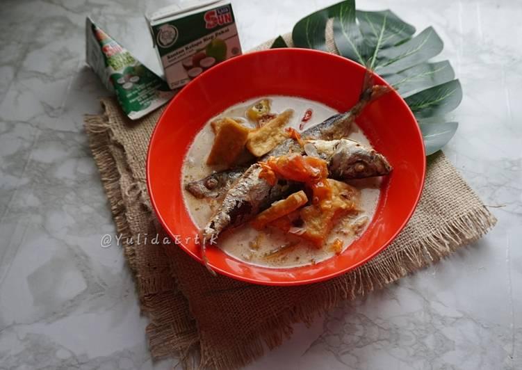 Resep Ikan Sarden Kuah Santan