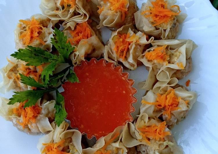 Resep Dimsum Ayam Lembut