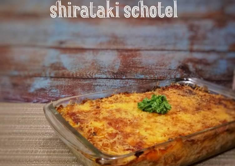 Resep Shirataki Schotel #ketopad