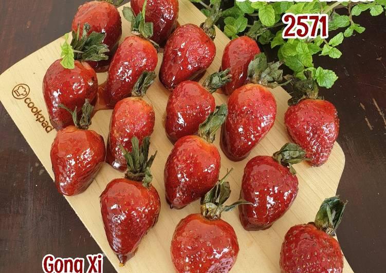 Resep Permen Buah/Strawberry Fruit Candy