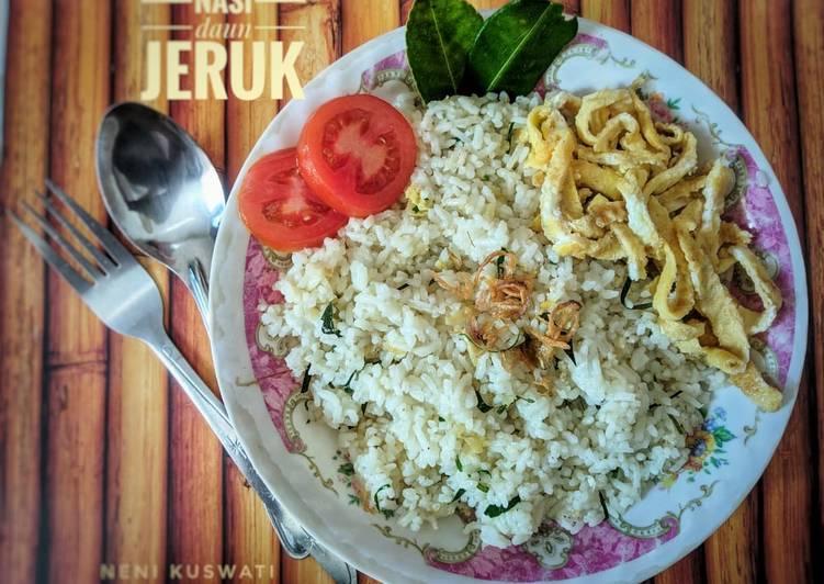Resep Nasi Daun Jeruk