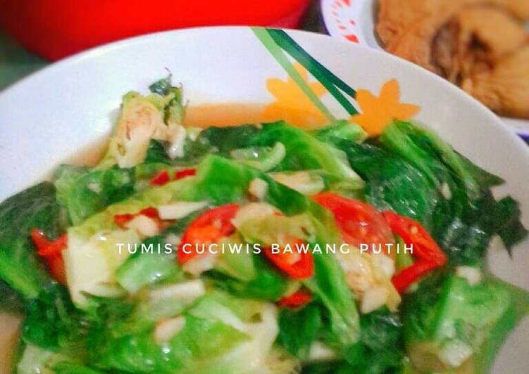 Resep Tumis Cuciwis Bawang Putih
