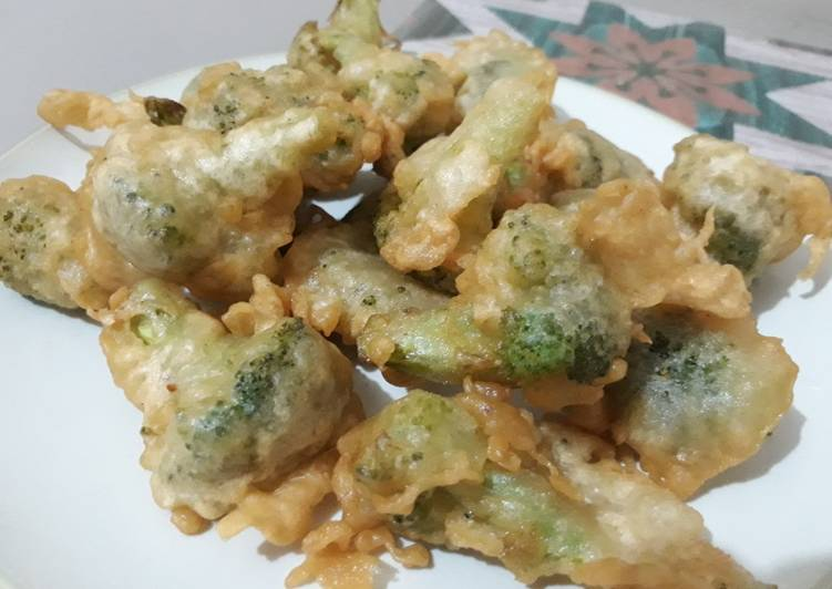 Resep Brokoli Goreng Tepung