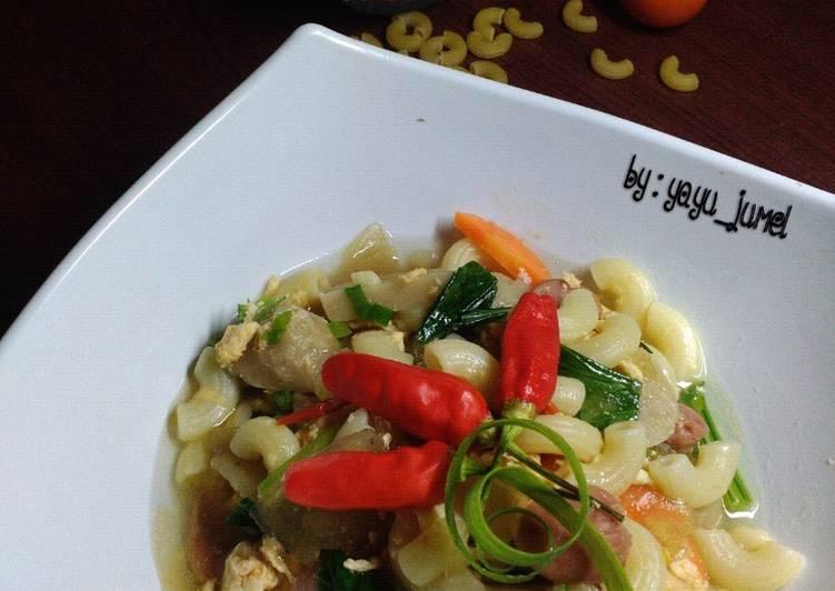 Resep Seblak Macaroni Suka-suka
