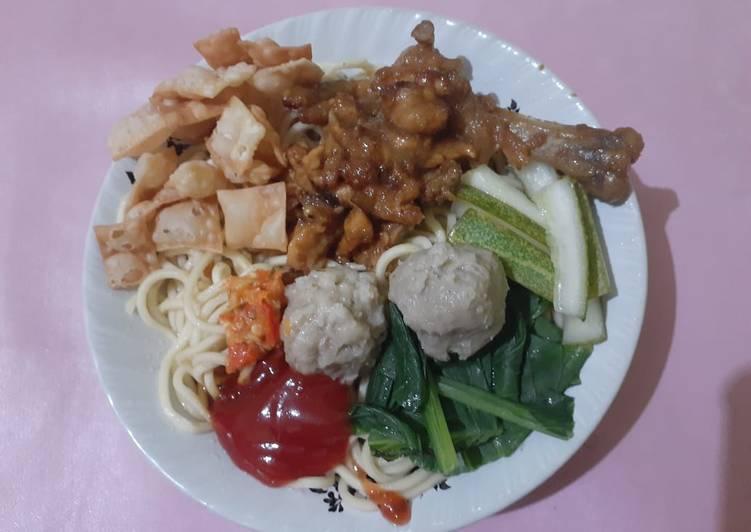 Resep Mie ayam enak simple