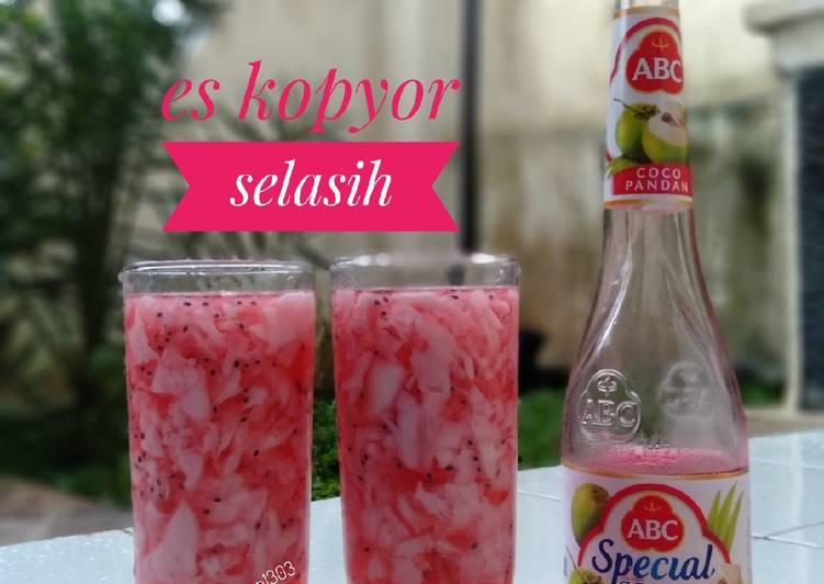 Resep Es Kopyor Selasih
