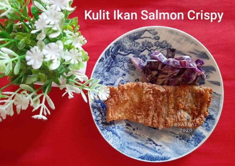 Resep Kulit Ikan Salmon Crispy