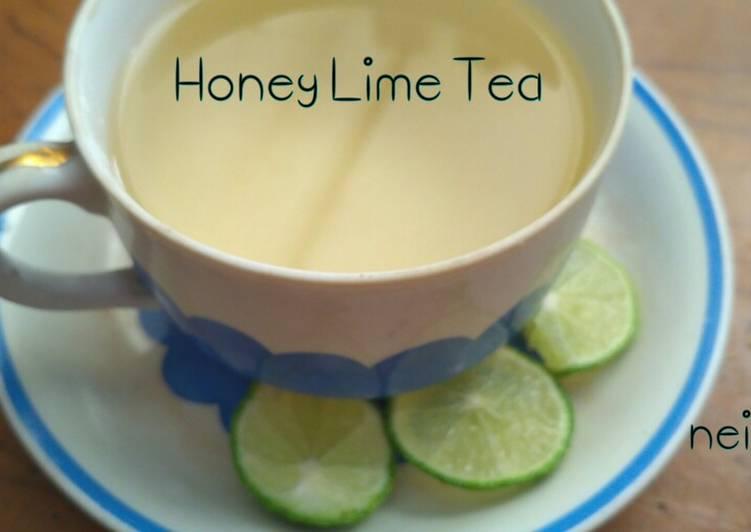 Resep Honey Lime Tea