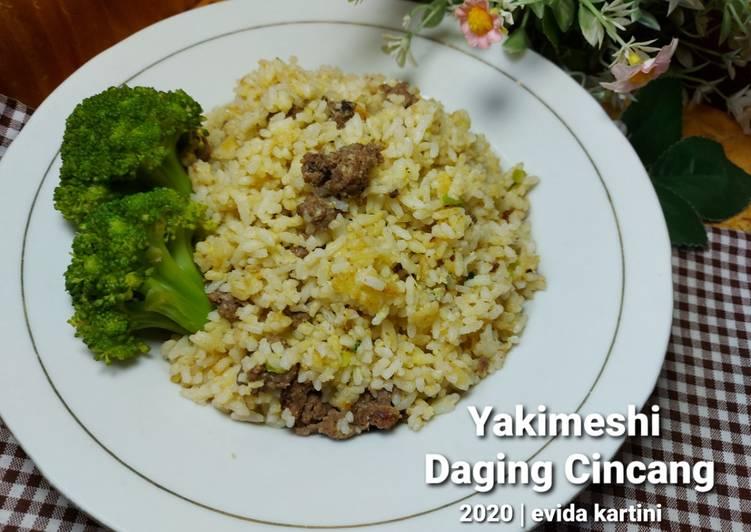 Resep Yakimeshi Daging Cincang