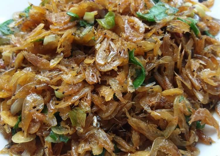 Resep Udang Rebon Renyah