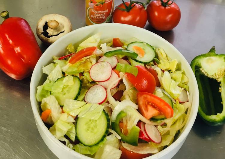 Resep Mixs Salad