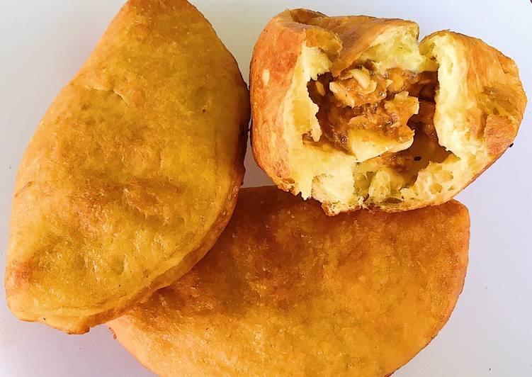 Resep Roti Goreng Ikan (Panada)