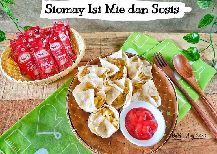 Resep Siomay isi Mie dan Sosis