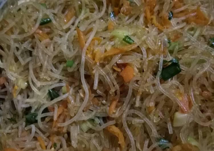 Resep Bihun Jagung goreng