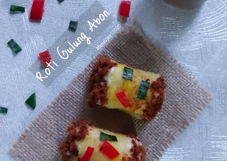 Resep Roti Gulung Abon (Mini)