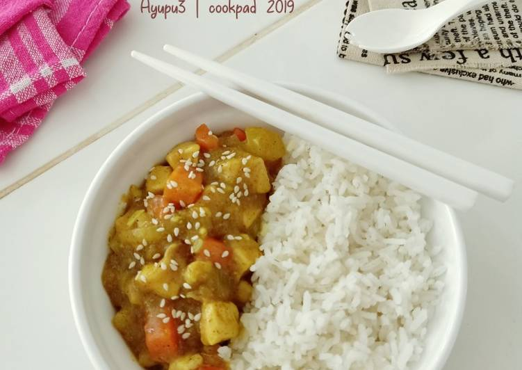 Resep Chicken Curry Rice