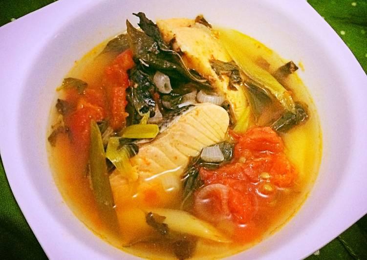 Resep Salmon Kua Asam
