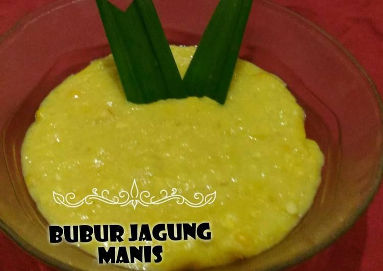 Resep Bubur Jagung Manis