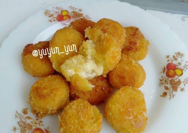 Resep Pompom Potato Cheese (Mozarella)