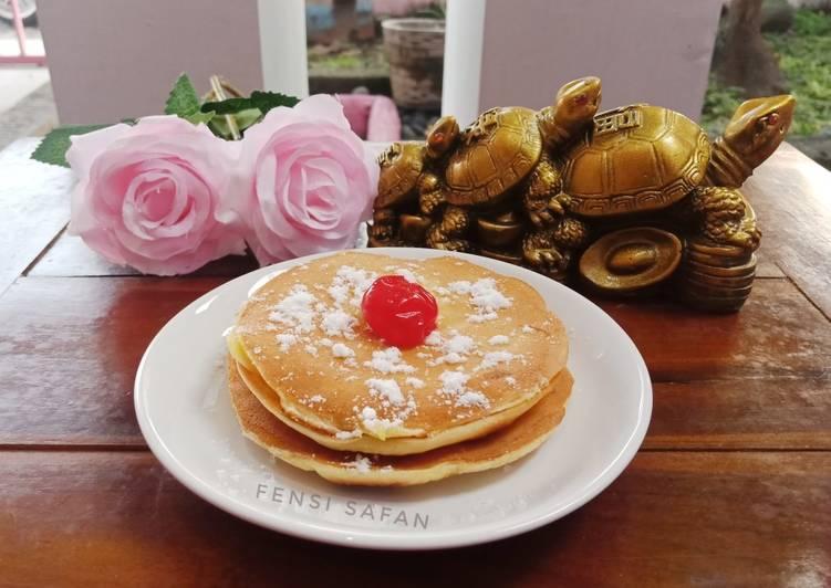 Resep Pancake (takaran sendok)