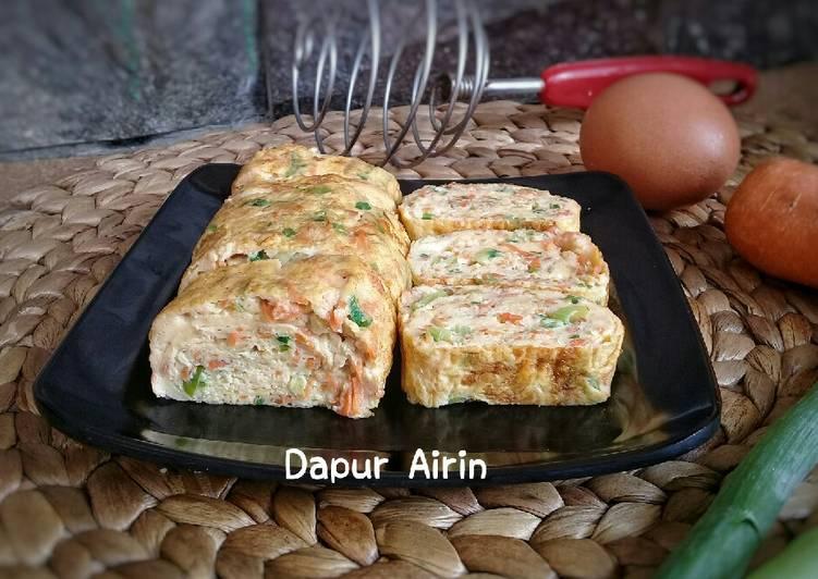 Resep Tamagoyaki / telur dadar gulung
