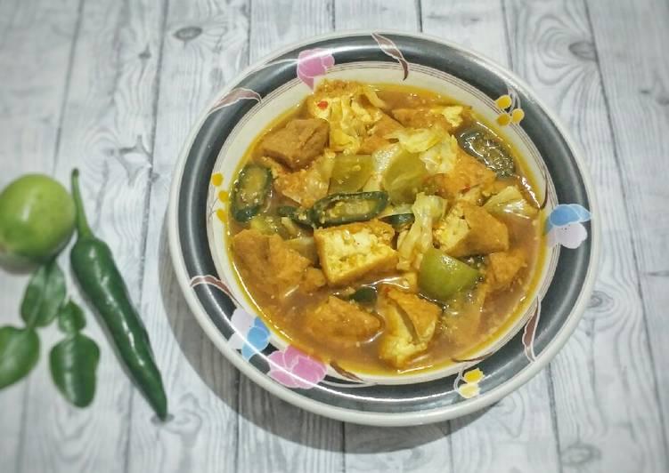 Resep Tongseng Tahu