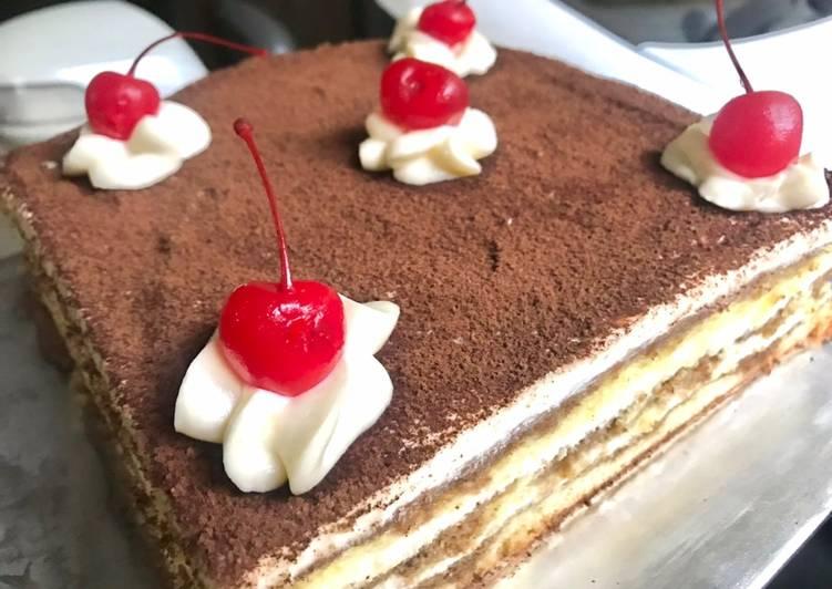 Resep Cake Tiramisu