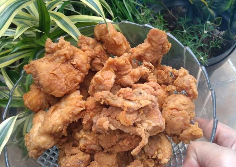 Resep Ayam goreng keriting (2)