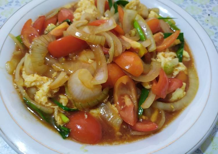 Resep Telur Tomat (recook from cheff Devina)