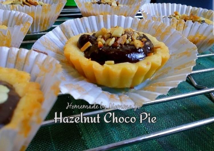 Resep Hazelnut Choco Pie
